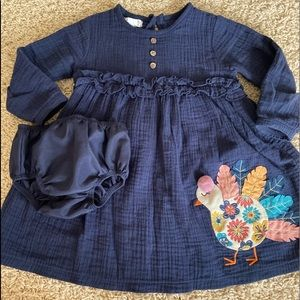 Toddler Mudpie dress with bloomers